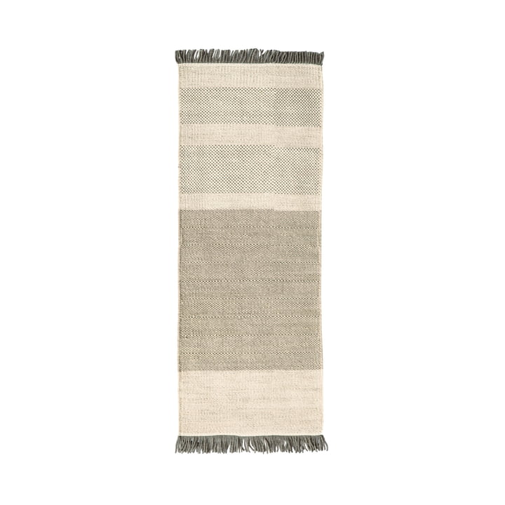 Der nanimarquina - Tres Stripes 80 x 240 cm in perle