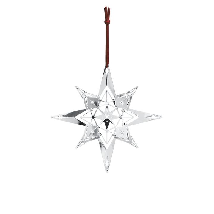 Weihnachtsschmuck Stern H 13 cm von Rosendahl in Silber
