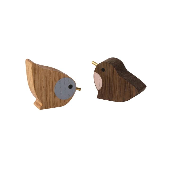 Winterland Vögel (2er Set) von ferm Living