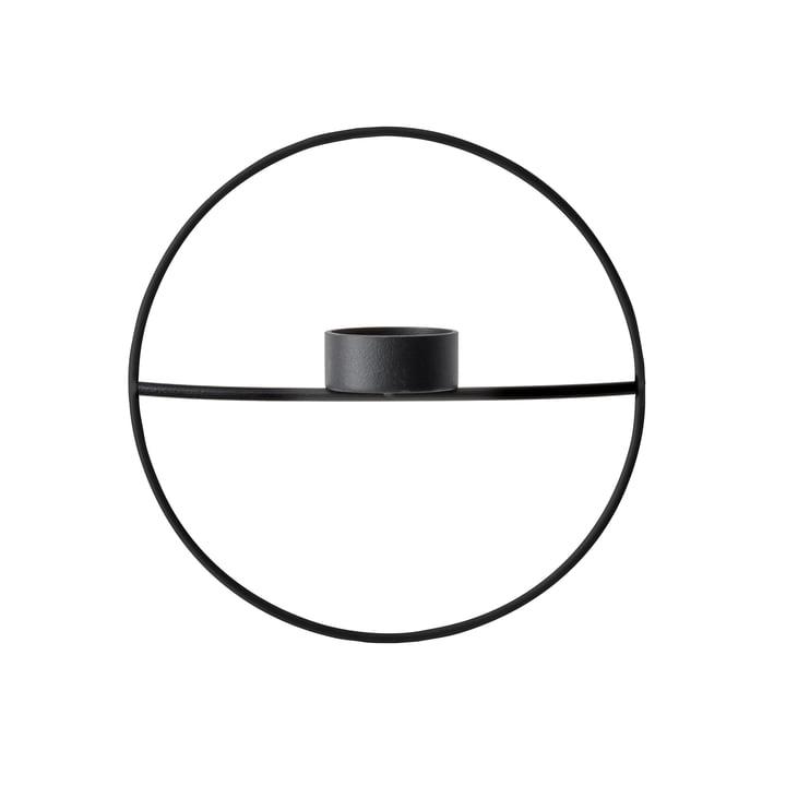 Der Menu - Pov Circle Teelichthalter, S in schwarz
