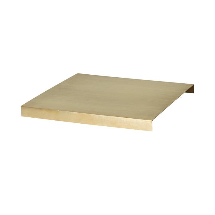 ferm Living - Tablett für Plant Box large, Messing