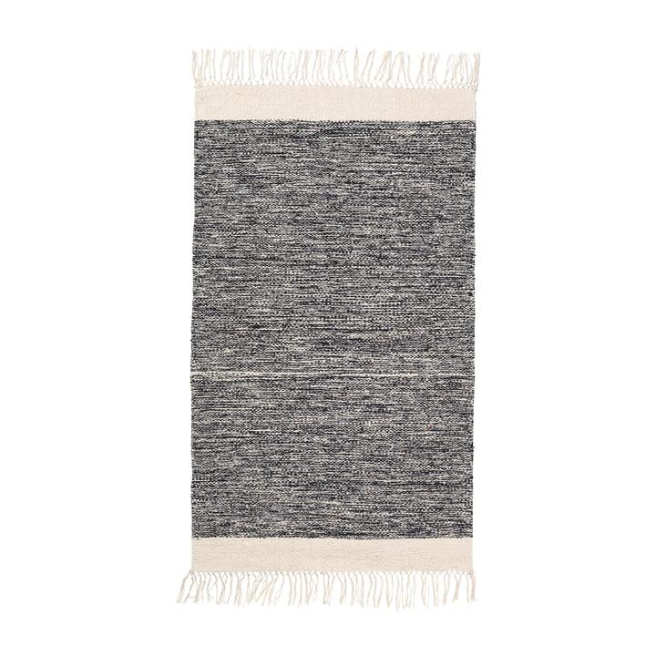 Melange Badematte 60 x 100 cm von ferm Living in Schwarz