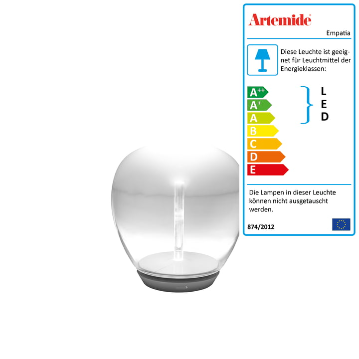 Artemide - Empatia 16 Tavolo LED Tischleuchte, weiß