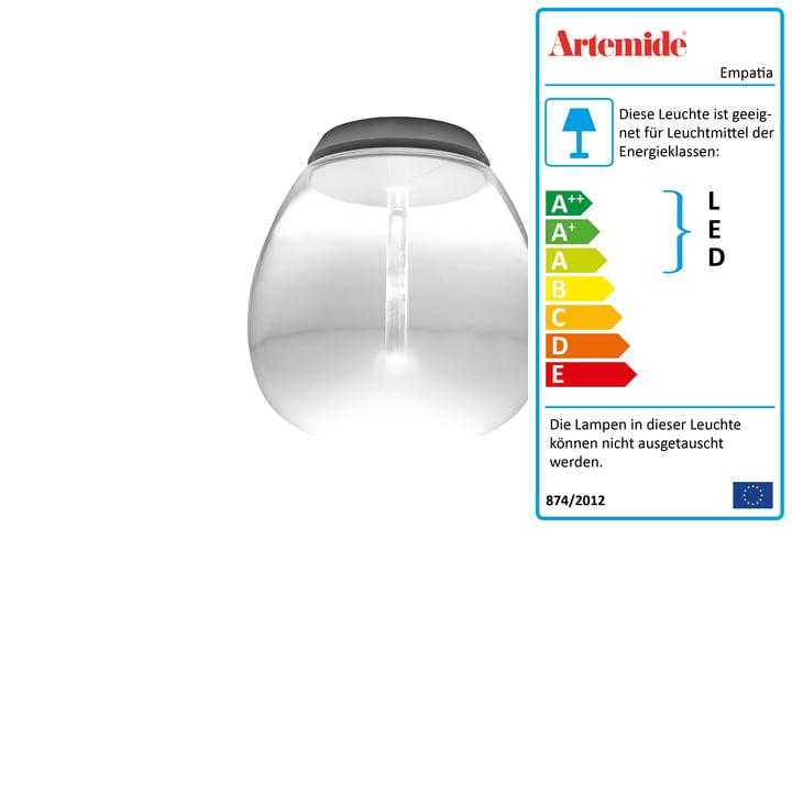 Artemide - Empatia 16 Soffitto LED Deckenleuchte, weiß