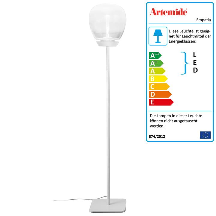 Artemide - Empatia 26 Terra LED Stehleuchte, weiß