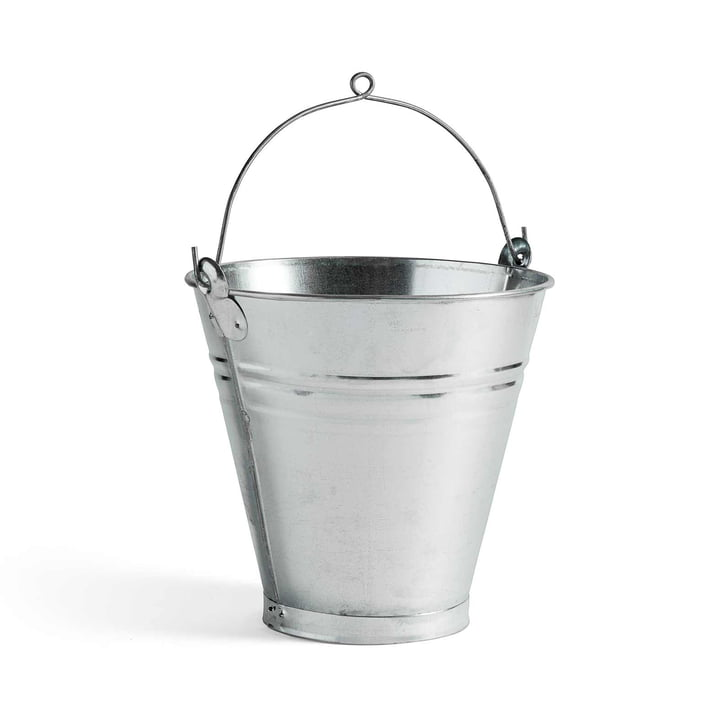 Türkischer handgefertigter Eimer von Hay aus Stahl