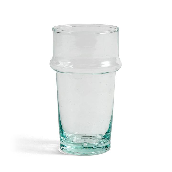 Hay - Marokkanisches Trinkglas S, H 10,5 cm / klar