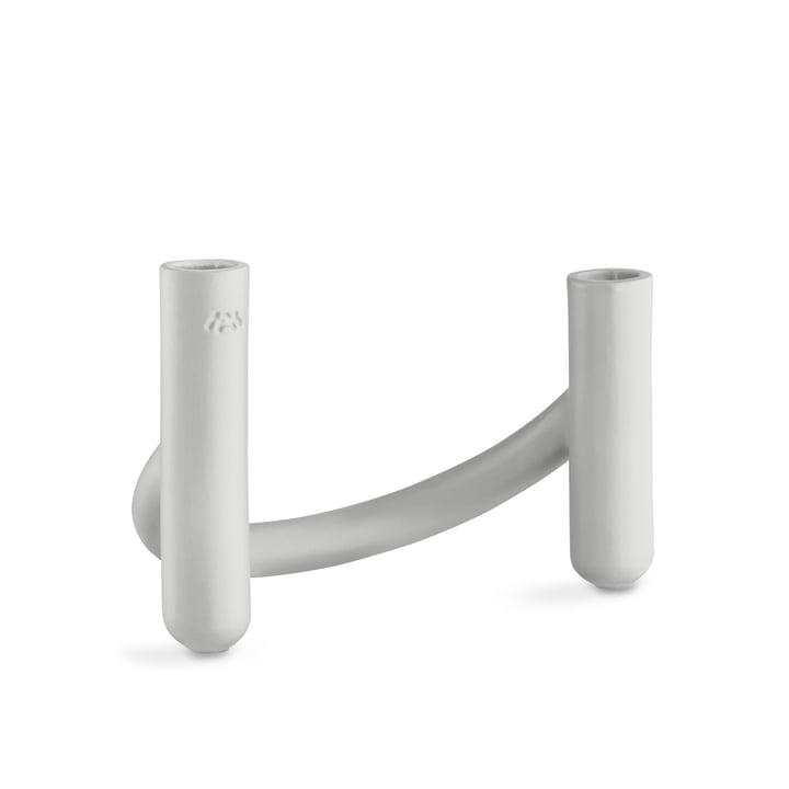 Nellemann Vase / Kerzenhalter von Kähler Design in Eisgrau