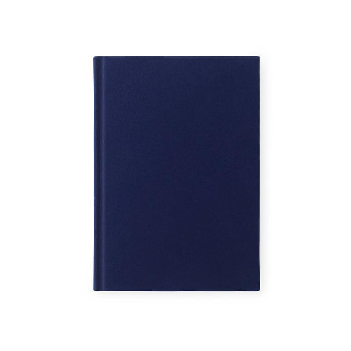 Das Normann Copenhagen - Velours Notizbuch in klein / tintenblau