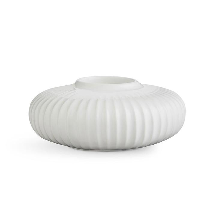 Hammershøi Teelichthalter H 5 cm von Kähler Design in Weiß