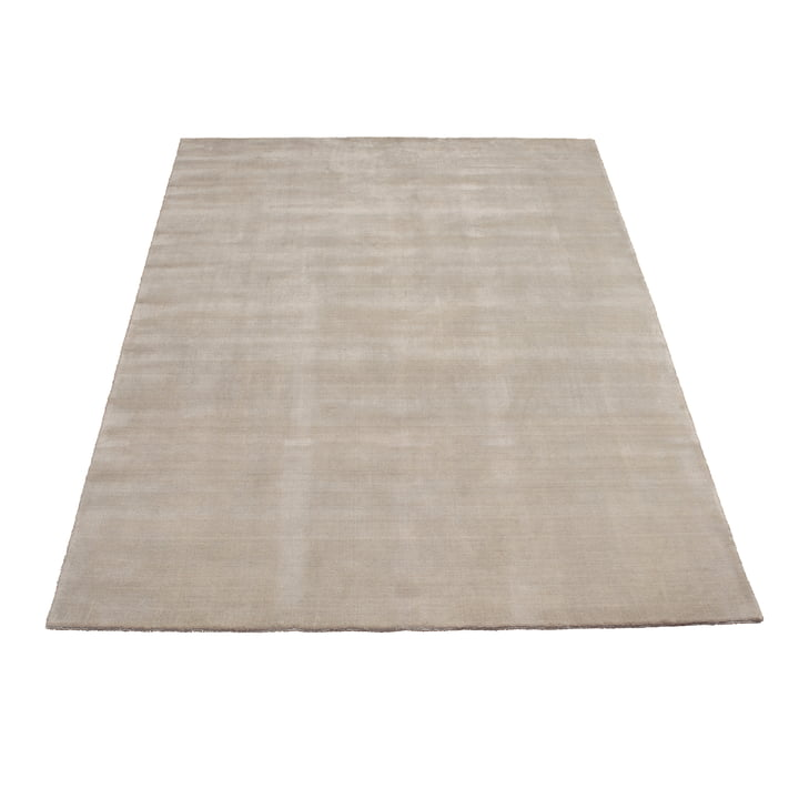 Earth Bamboo Teppich 170 x 240 cm von Massimo in Soft Grey