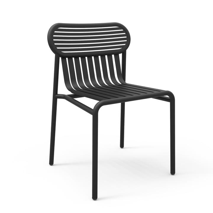 Der Week-End Stuhl von Petite Friture, schwarz (RAL 9005)