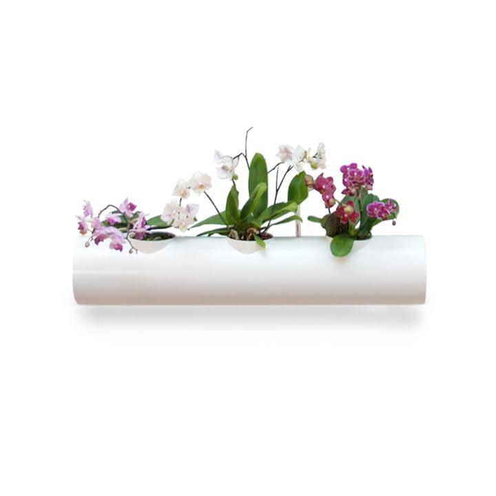 Zusatzröhre für Hängegarten von urbanature in Weiß