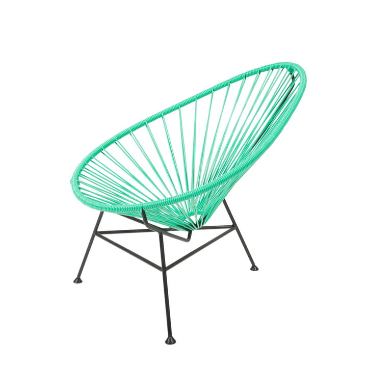 Der Acapulco Design - Acapulco Mini Chair in verde / schwarz