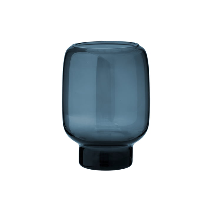 Stelton - Hoop Vase, H 14 cm, midnight blue