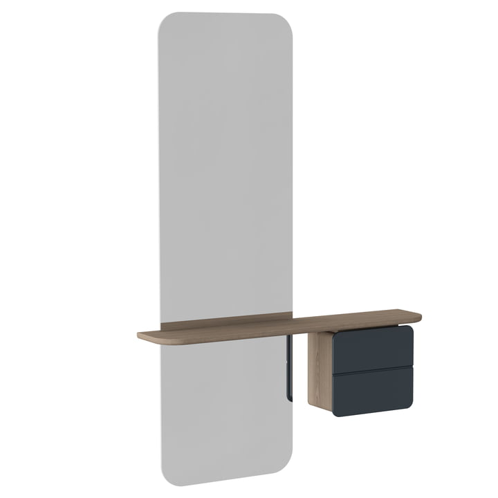 Umage - One More Look Spiegel, anthrazitgrau
