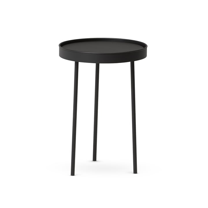 Der Northern - Stilk Coffee Table small, Ø 35 x H 50 cm, schwarz