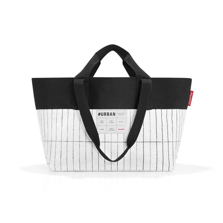 Die reisenthel - urban bag new york, schwarz / weiß