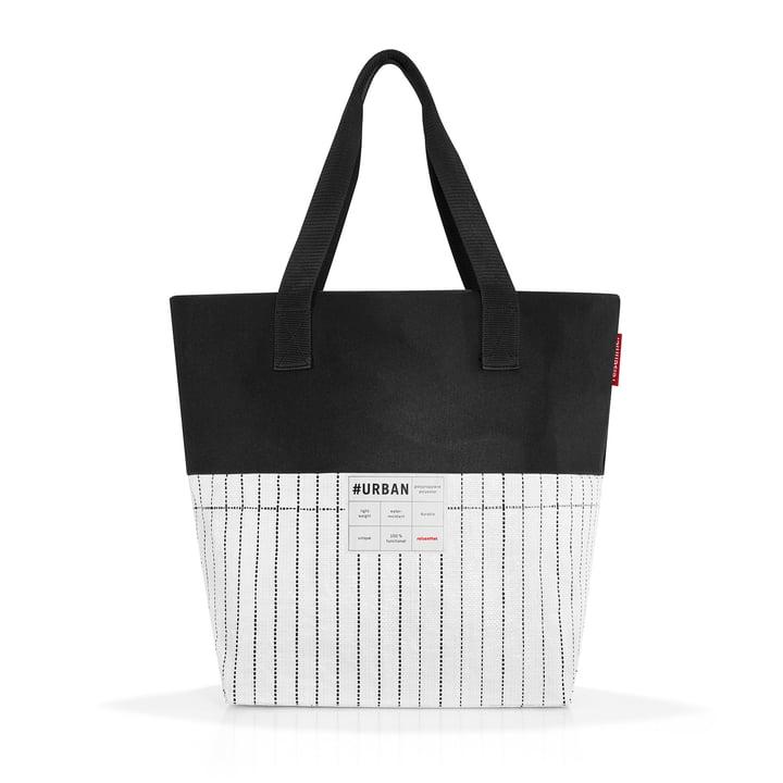 Die reisenthel - urban bag paris, schwarz / weiß