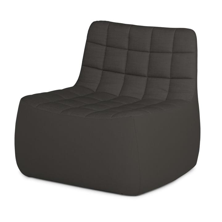Der Northern - Yam Chair XL, Brusvik dunkelgrau (08)