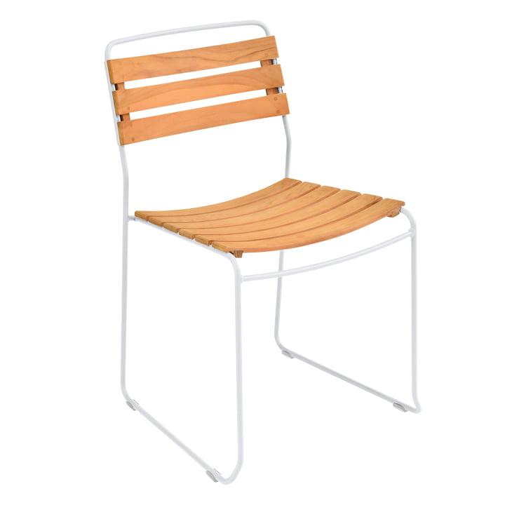 Der Fermob - Surprising Teck Stuhl, Teak / baumwollweiß