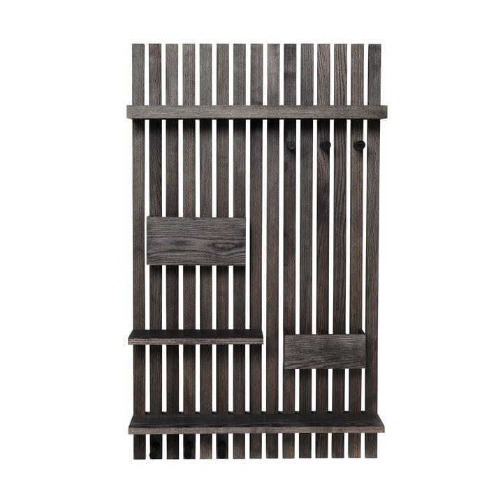 Wooden Multi Shelf von ferm Living in Esche schwarz gebeizt