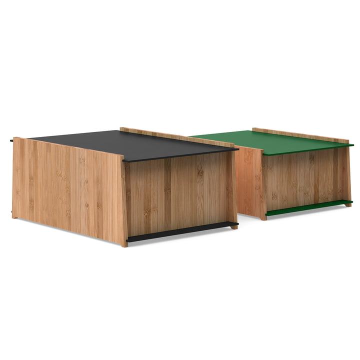 Die We Do Wood - Chest 1-2 Aufbewahrungskisten, bambus