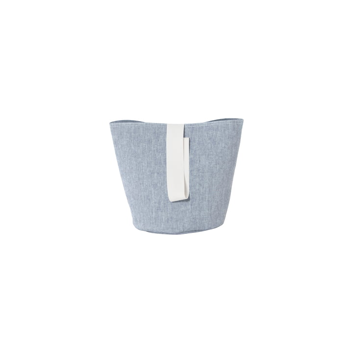 Chambray Basket Small von ferm Living in Blau