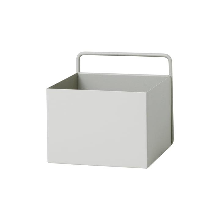 Wall Box quadratisch von ferm Living in Hellgrau