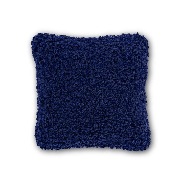 Boucle Kissen 45 x 45 cm von Tom Dixon in Electric Blue