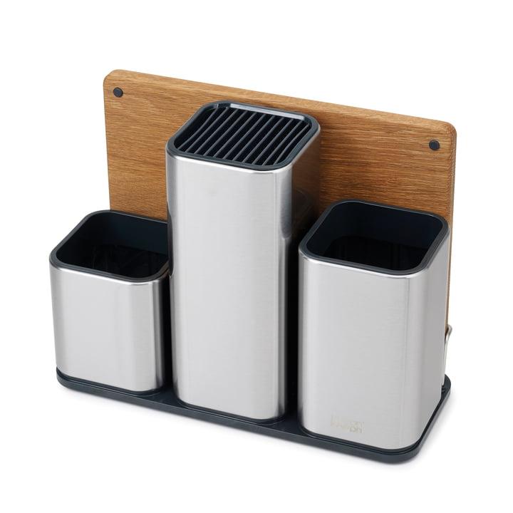 CounterStore 100 Küchen-Caddy mit Schneidebrett von Joseph Joseph