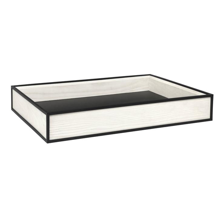 Frame Tablett von by Lassen in Weiß