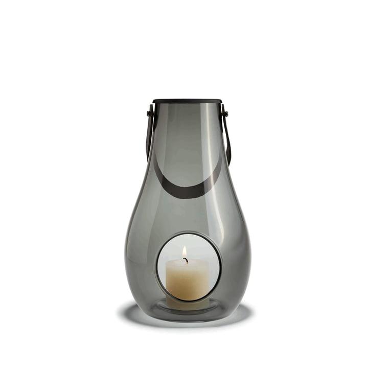 Design with light Laterne H 25 cm von Holmegaard in Smoke