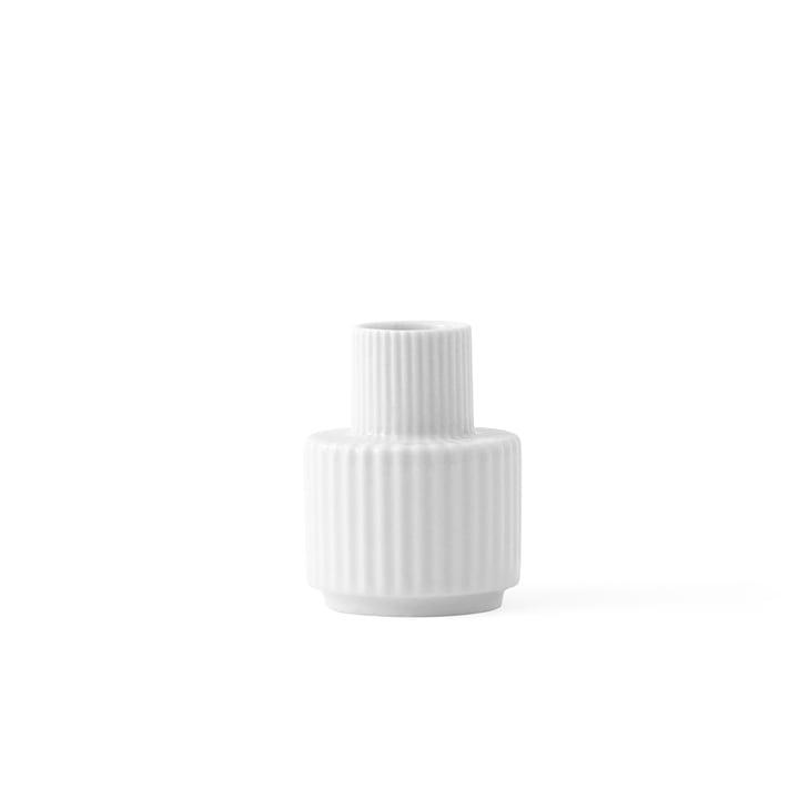 Kerzenhalter H 7 cm von Lyngby Porcelæn in Weiß