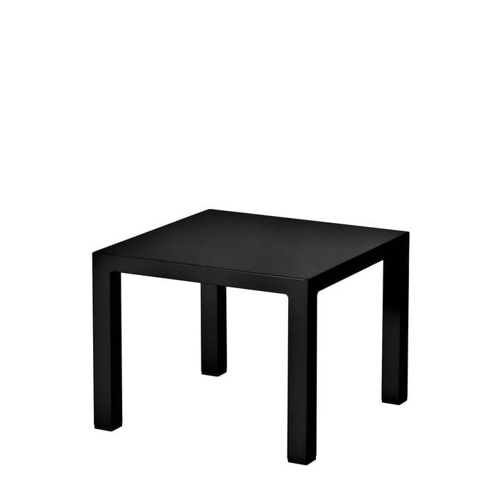 Der Emu - Round Beistelltisch H 42 cm, 45 x 45 cm, schwarz