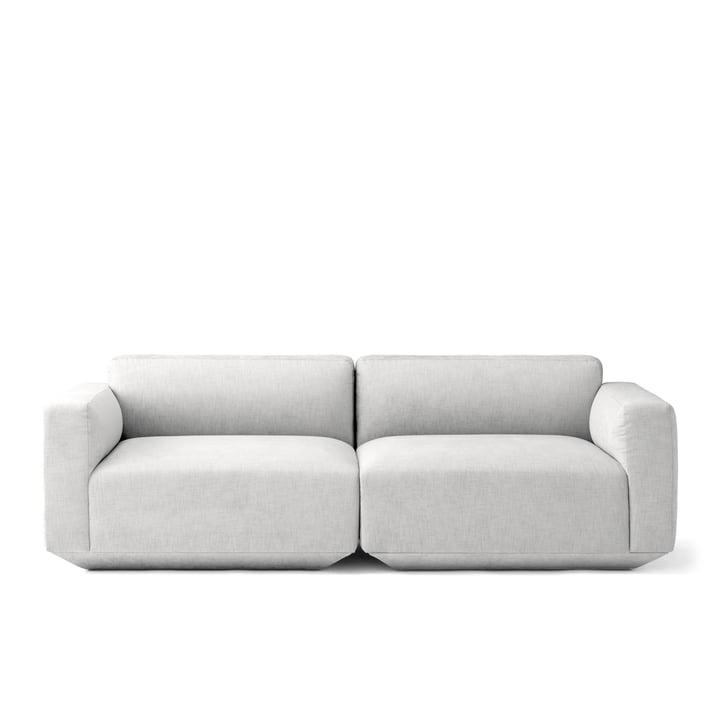 Develius 2-Sitzer Sofa Konfiguration A von &Tradition in Kvadrat Maple 112