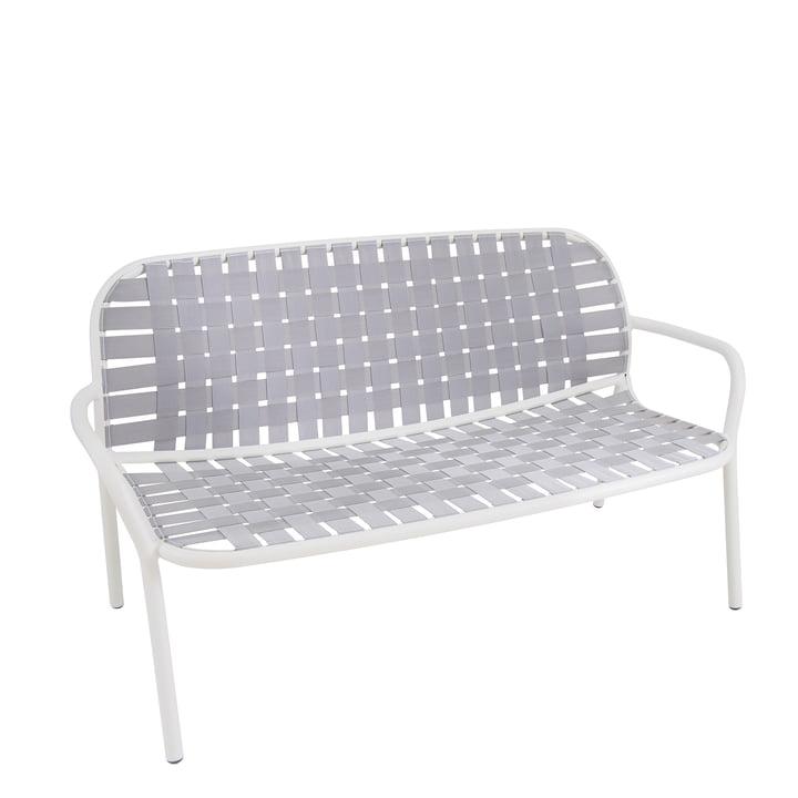 Yard Loungesofa von Emu in weiß / grau