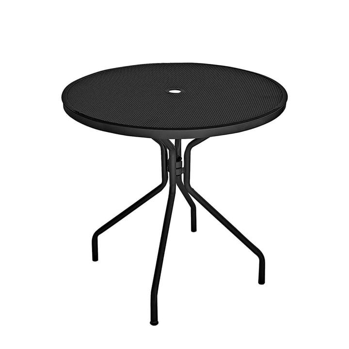 Cambi Tisch Ø 80 cm von Emu in schwarz