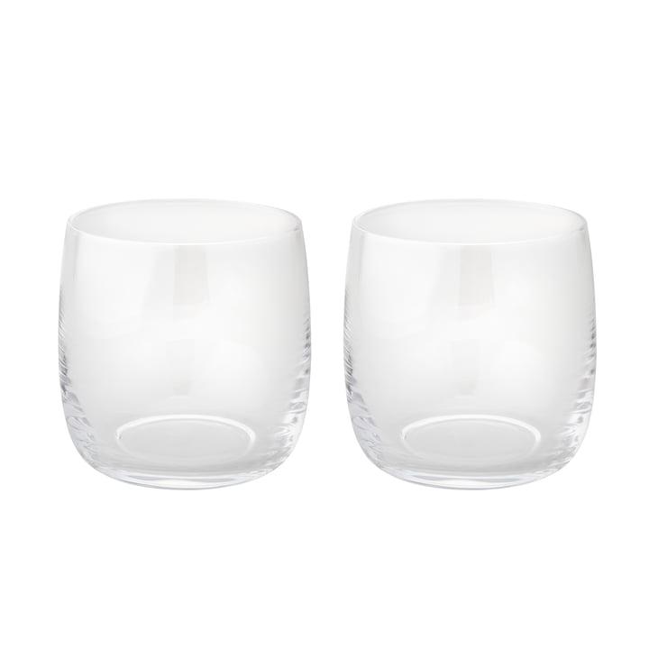 Foster Wasserglas 0,2 l im 2er-Set von Stelton aus Glas
