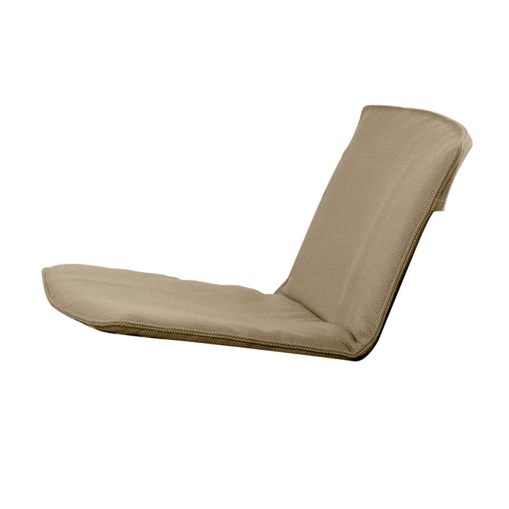 Sitz- und Rückenkissen für Zebra Loungesessel von Fast in Beige