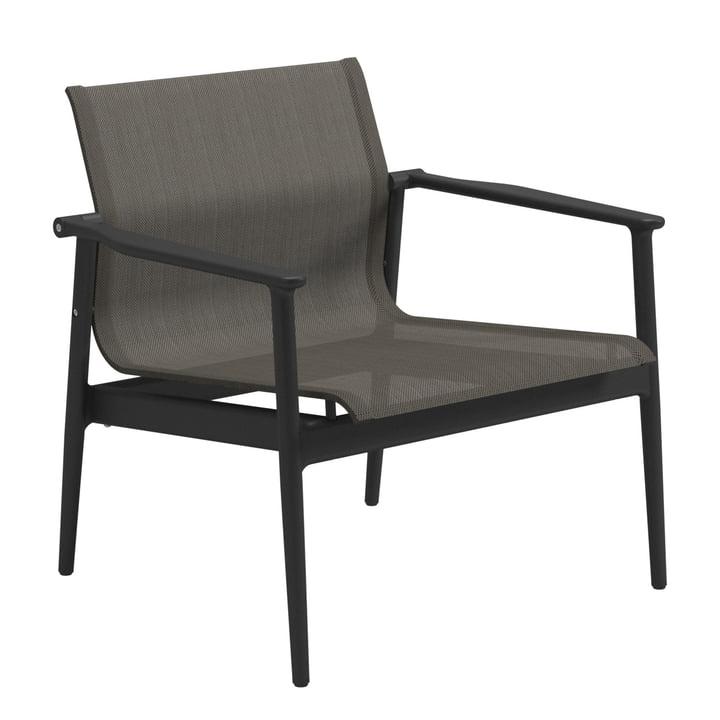 Der Gloster - 180 Lounge Chair, meteor / anthrazit