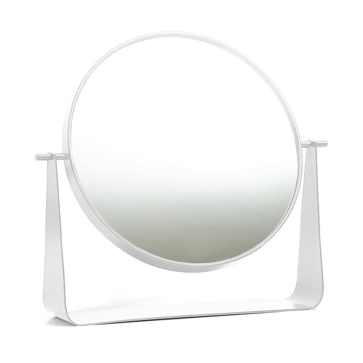 Narcisse Tischspiegel von Hartô in Weiß