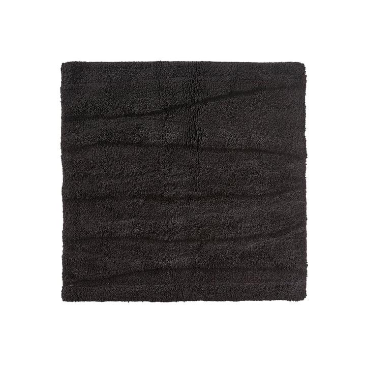 Die Zone Denmark - Flow Badezimmermatte, 65 x 65 cm, schwarz