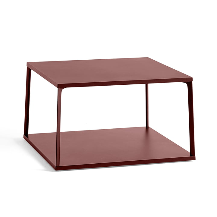 Der Hay - Eiffel Coffee Table, 65 x 65 cm, backstein