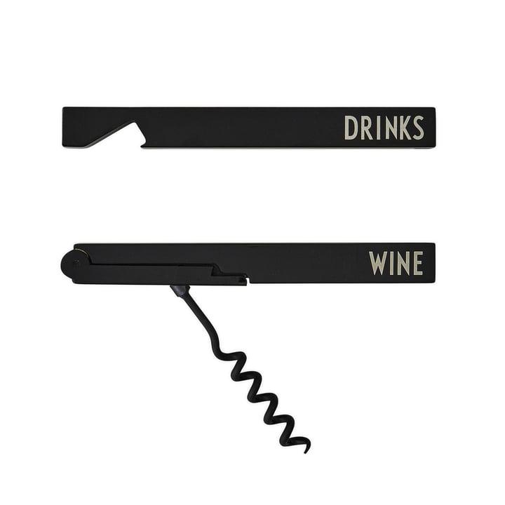 Bar Geschenkset Flaschenöffner von Design Letters
