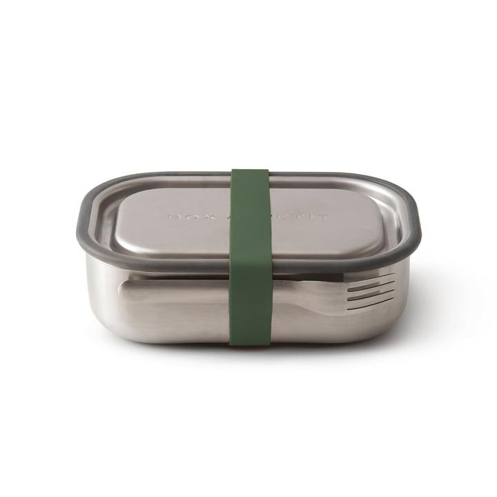 Die Black + Blum - Edelstahl Lunch Box in olive