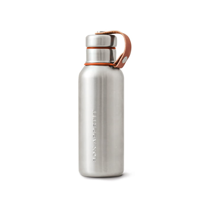 Die Black + Blum - Edelstahl Insulated Water Bottle, 0.5 l, orange