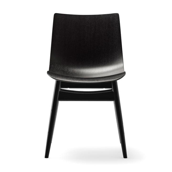 Der Carl Hansen - BA001T Preludia Stuhl in Buche schwarz lackiert