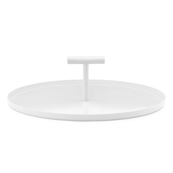 Das Normann Copenhagen - Glaze Tablett in creme
