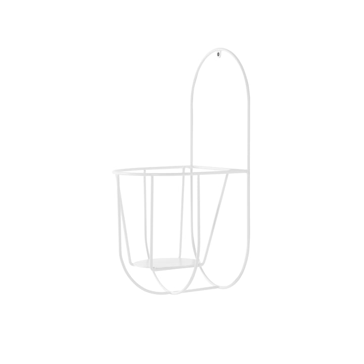 Der OK Design - Cibele Wand-Blumentopfhalter Small in weiß